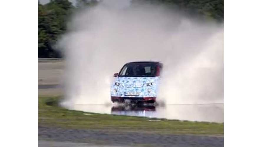 Water Testing BMW i8 And BMW i3 - Video