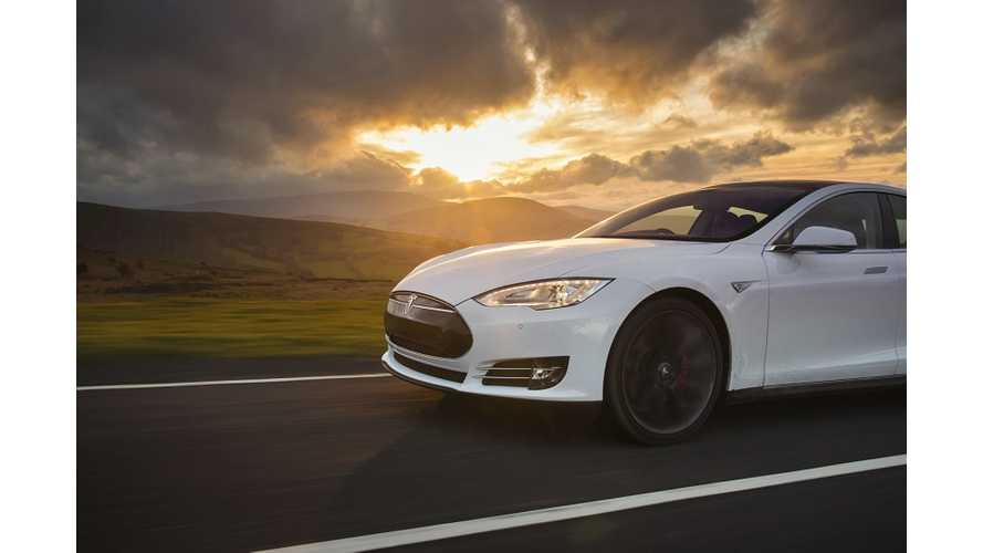 Tesla Model S Gets It Own Unique Song - Video