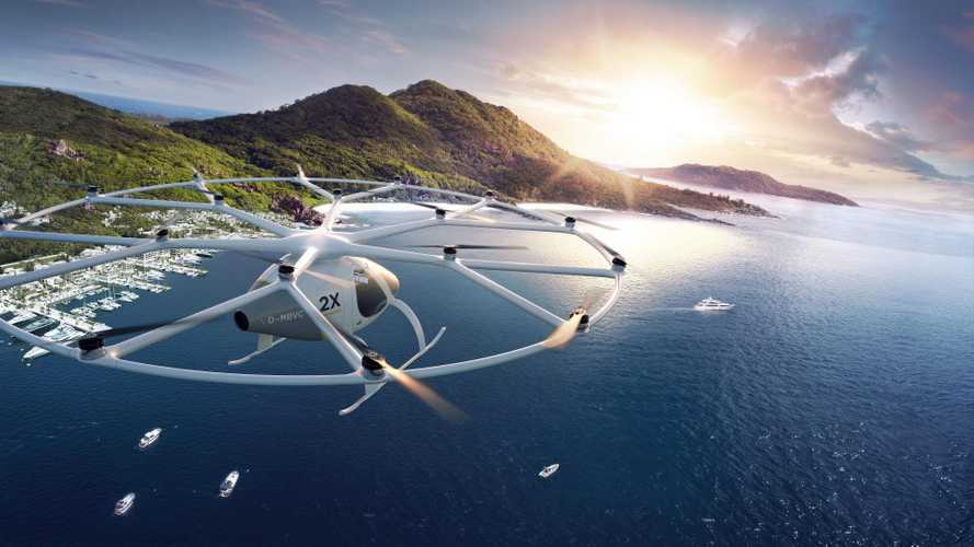 Daimler Invests $30 Million Into Flying Volocopter Electric Taxi