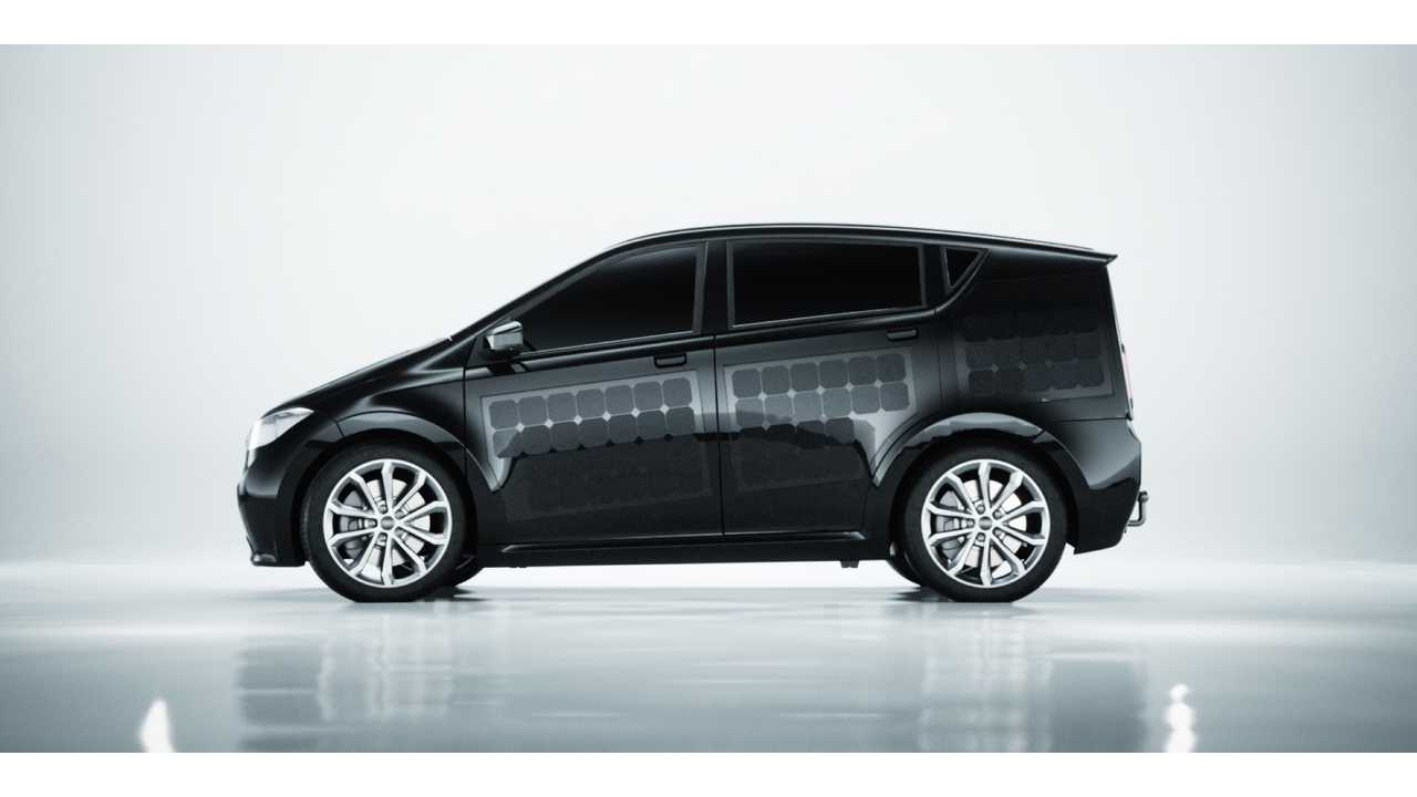 Sono Sion Unveiled, World's First Production Solar Car - Up To 18 Miles PV Added Range Per Day
