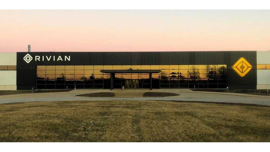 Rivian Releases Magical New Photo Of Factory In Illinois