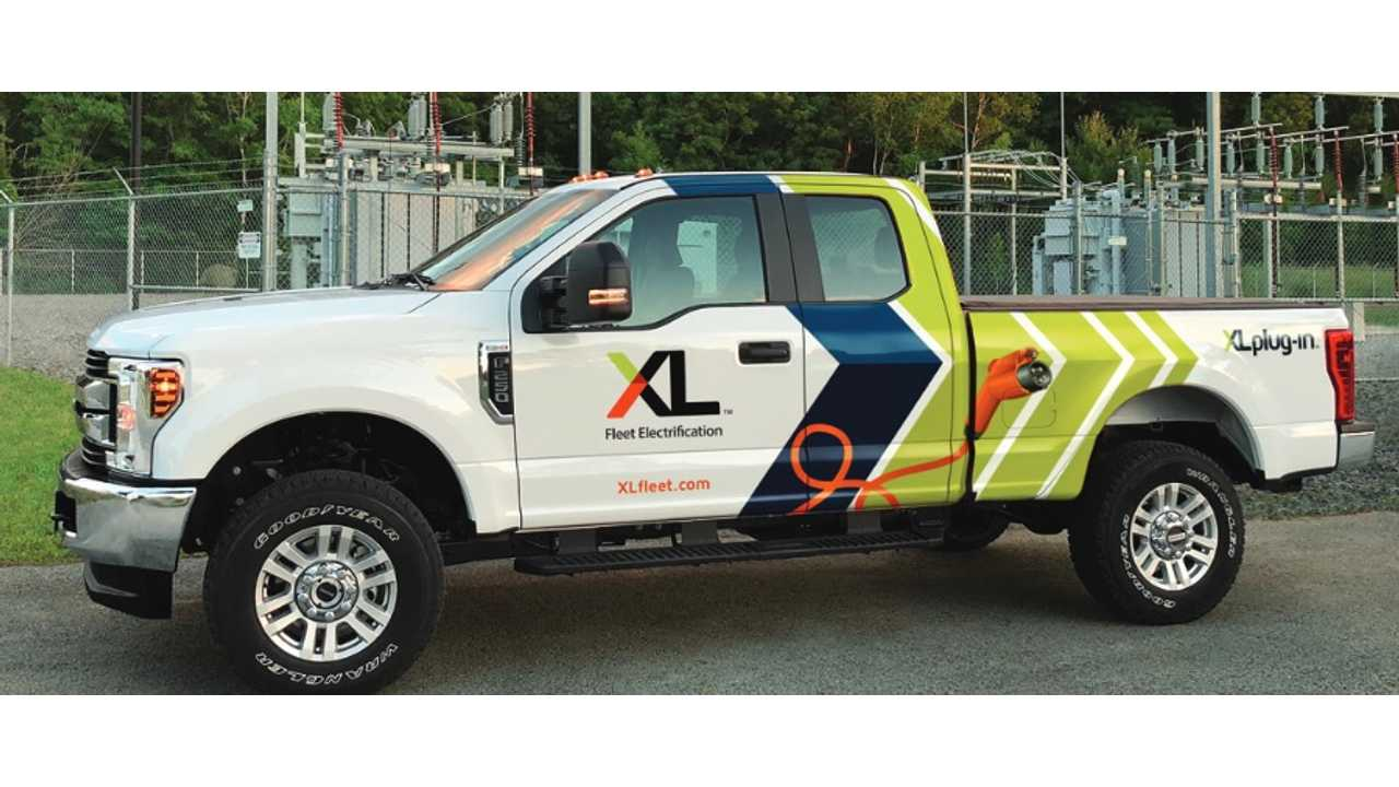XL PHEV System Improves Ford F-250 Truck Fuel Economy By 50%