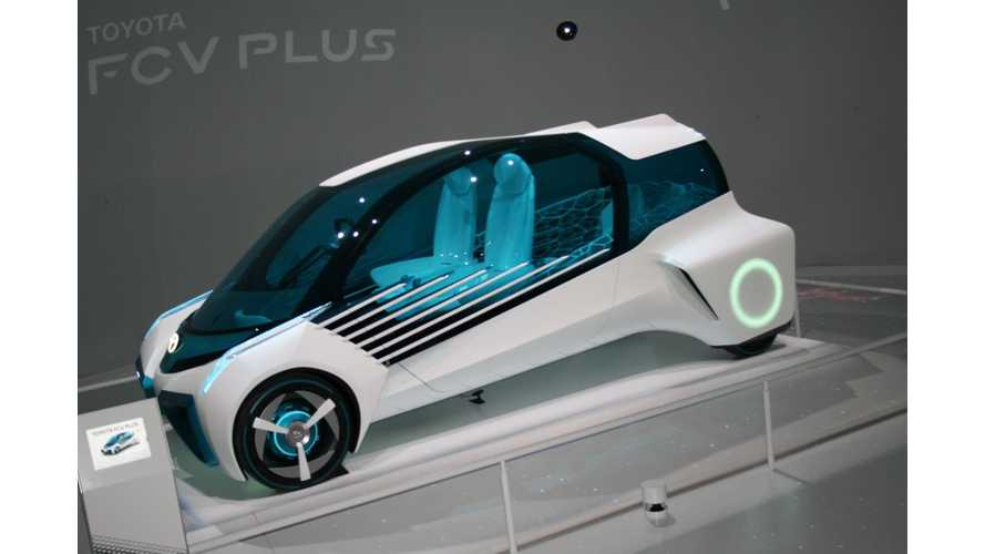 Toyota FCV Plus In Tokyo - Images & Videos