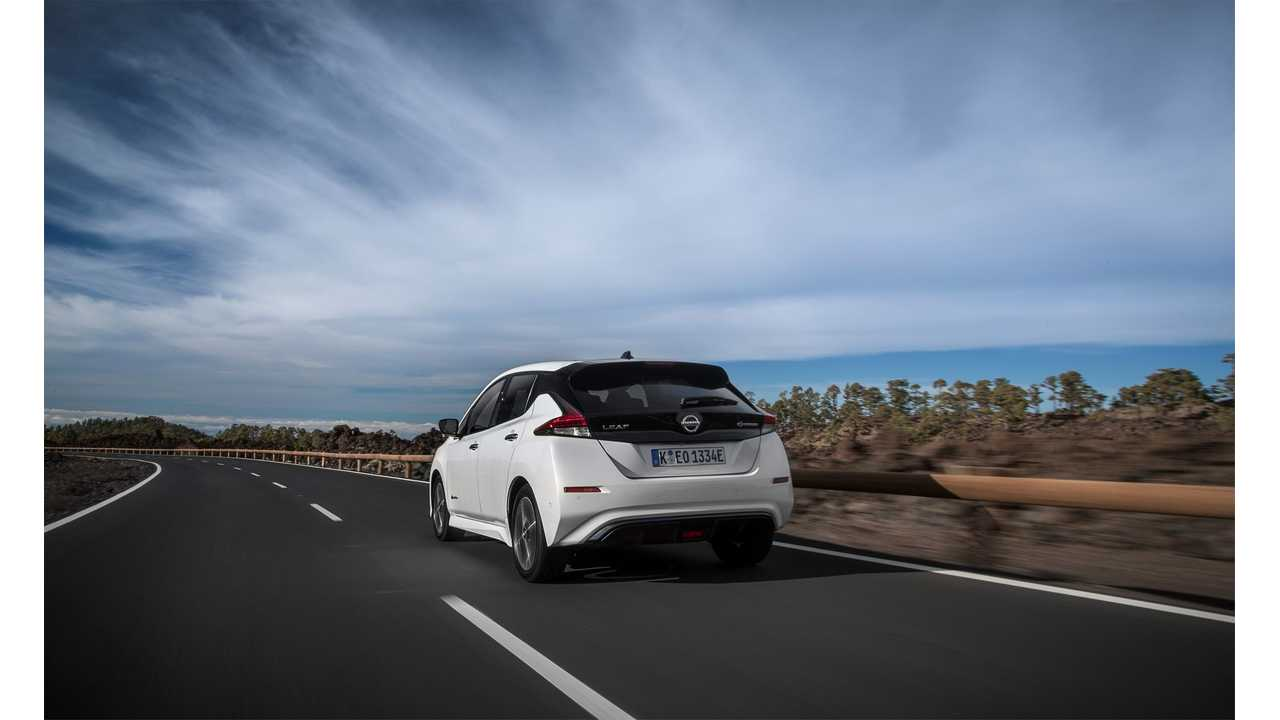 4,000 Orders For New Nissan LEAF in Norway
