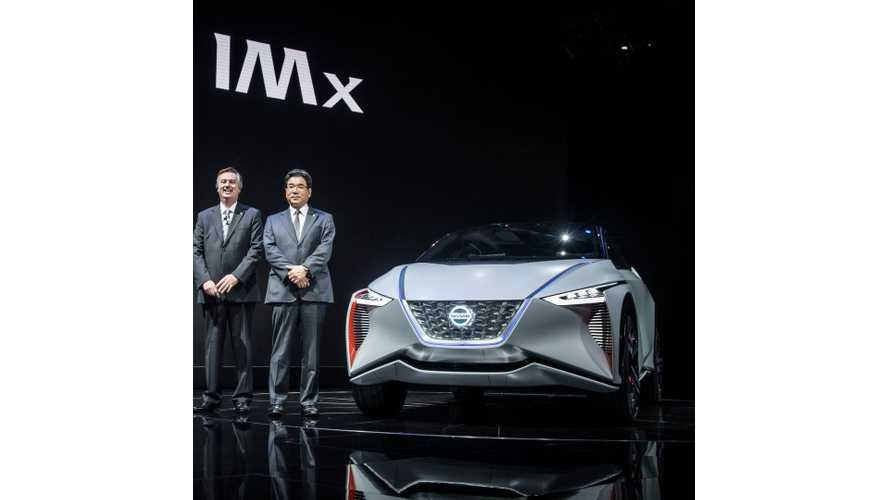 Nissan IMx Electric CUV Debuts With *373-Mile Range