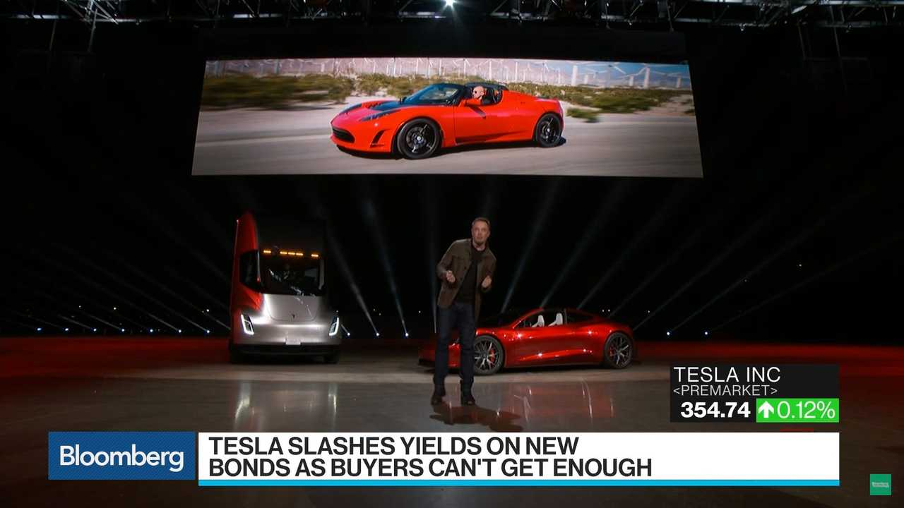 Tesla Looking To Raise $500 Million Through Bonds Backed By Car Leases - Video