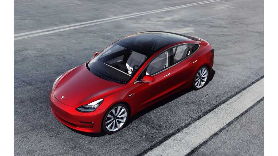 Average Sale Price Of Tesla Model 3 Now At $59,000