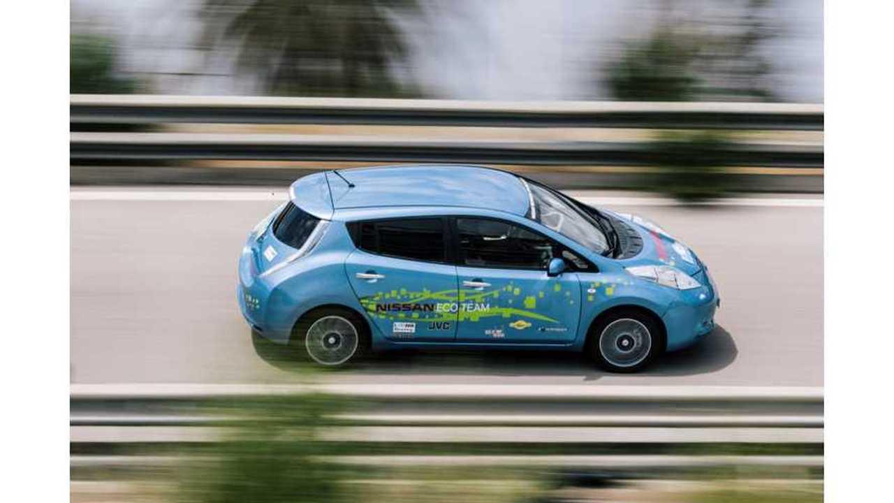 48 kWh Nissan LEAF prototype