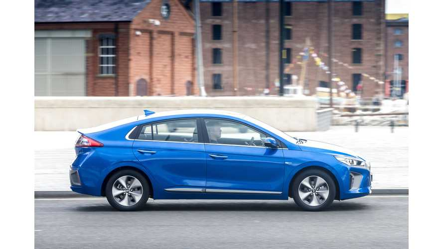 Hyundai IONIQ Electric Offered Under New