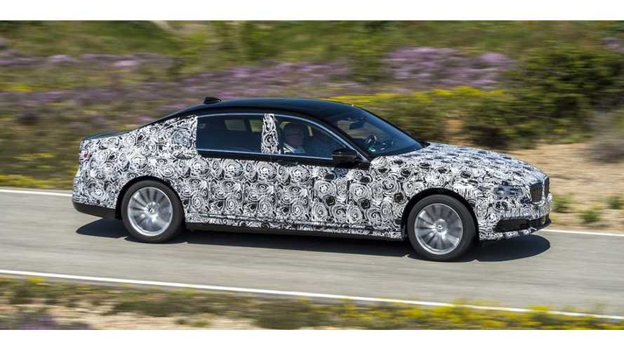 Upcoming BMW 7-Series Borrows BMW i3, i8 Tech