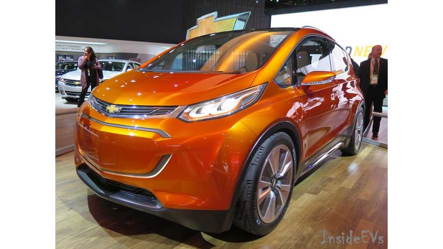 Official: Chevrolet Bolt To Retain Its Volt-Like Name