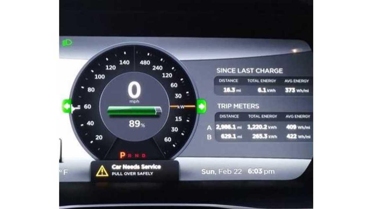 Update: P85D Owner Advised By Tesla To Avoid Range Mode To Prevent Slight Power Loss