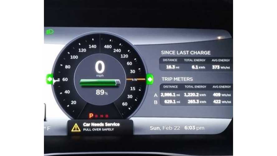 Update: P85D Owner Advised By Tesla To Avoid Range Mode To Prevent Slight Power Loss