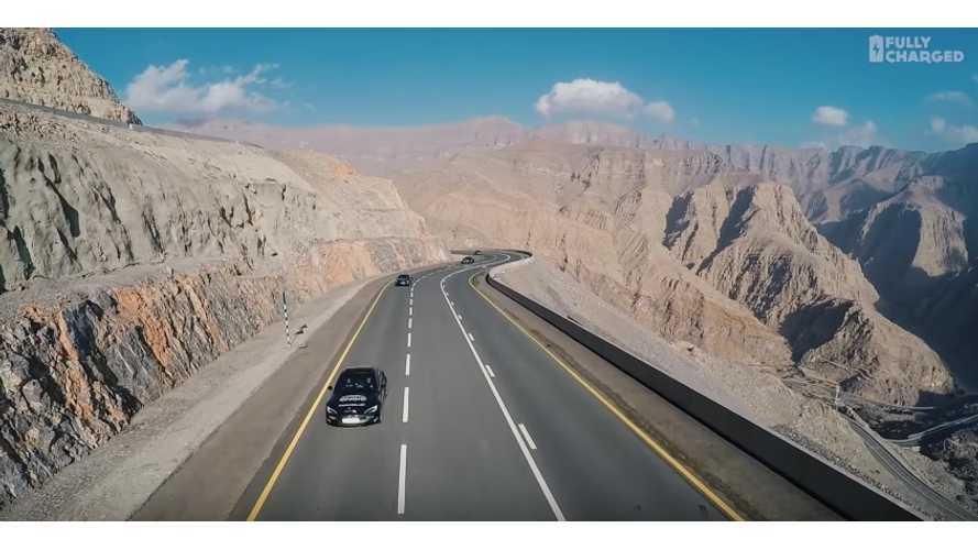 Emirates Electric Road Trip, Shows Big Local EV Push - Video