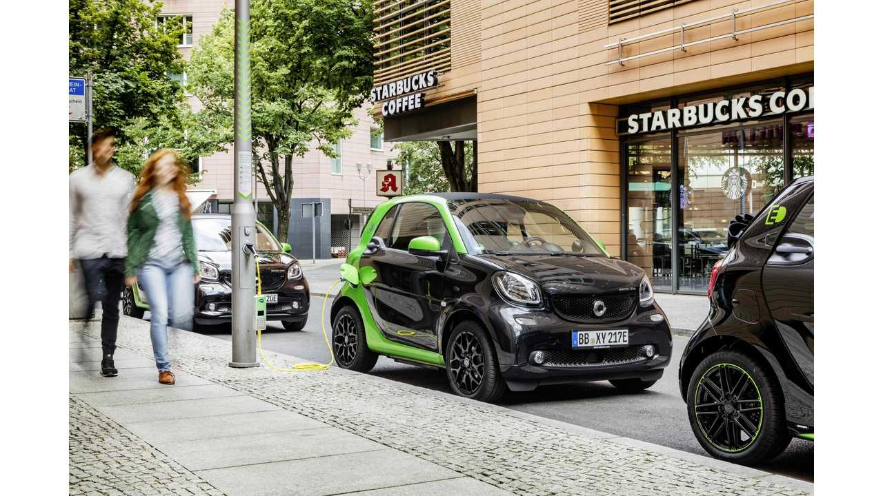 New Smart ED Starts At $16,300 in U.S., After Fed Incentive