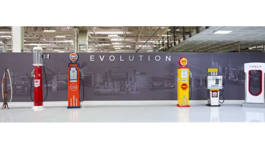 Tesla's Evolution On Display