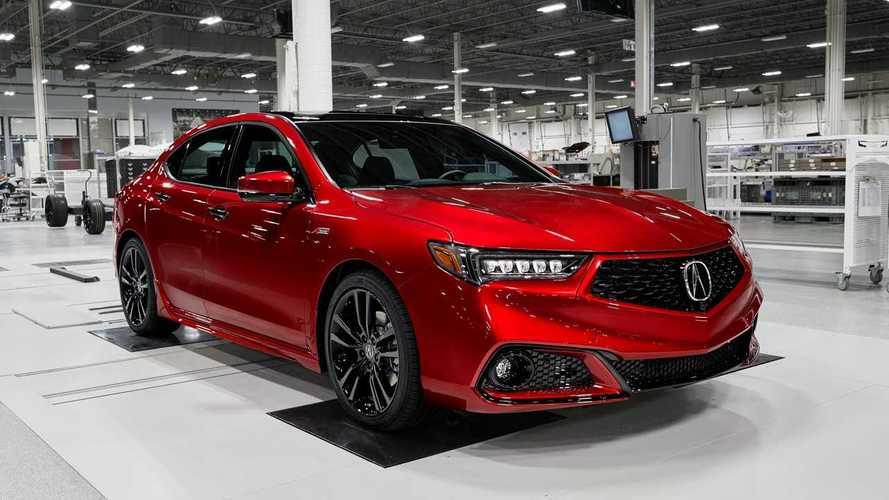 Acura представила TLX PMC Edition, которую будут собирать вручную создателями NSX