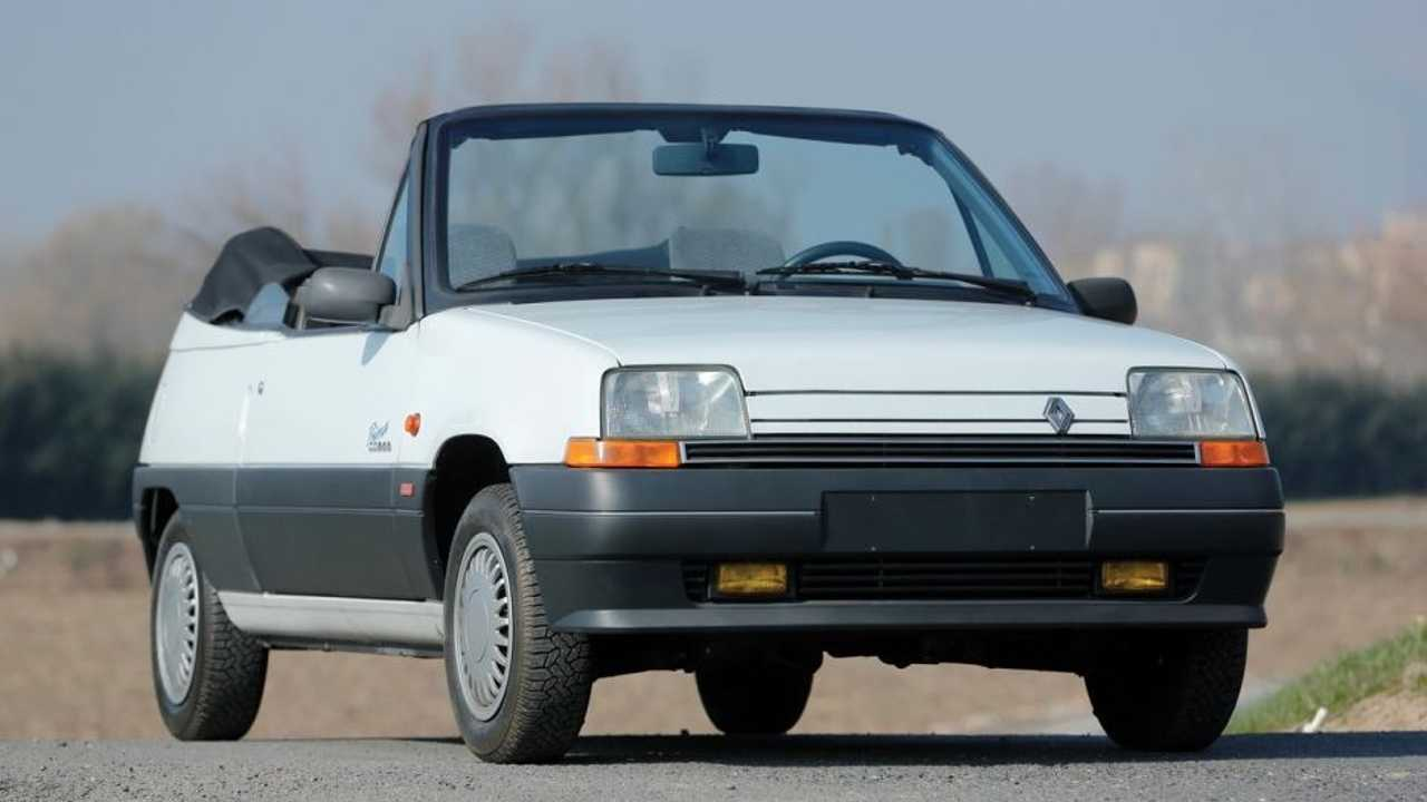 Renault 5 cabriolet
