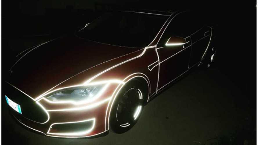 Tron Tesla Model S