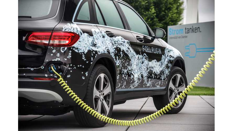 Mercedes-Benz GLC F-CELL:  First Plug-In FCV, Production Starts In 2017