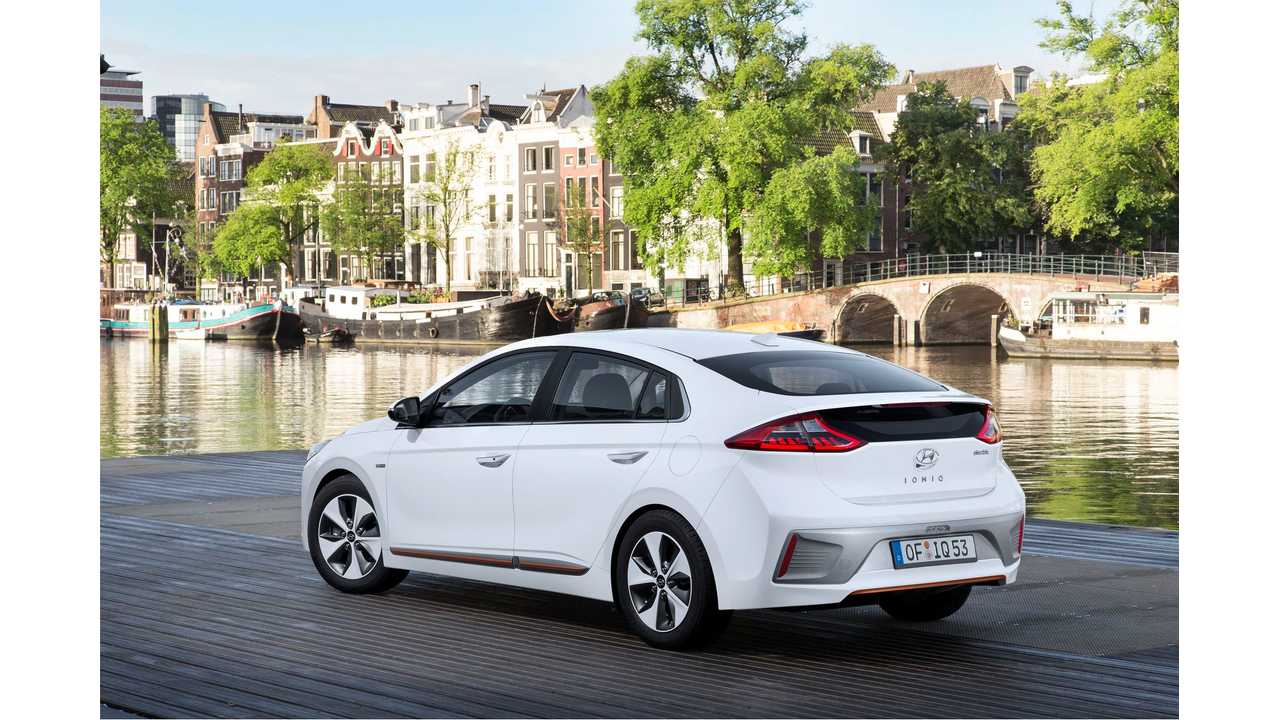 Hyundai IONIQ Electric Becomes U.S.' Most Fuel-Efficient Vehicle.  Update: For A Few Weeks Anyway