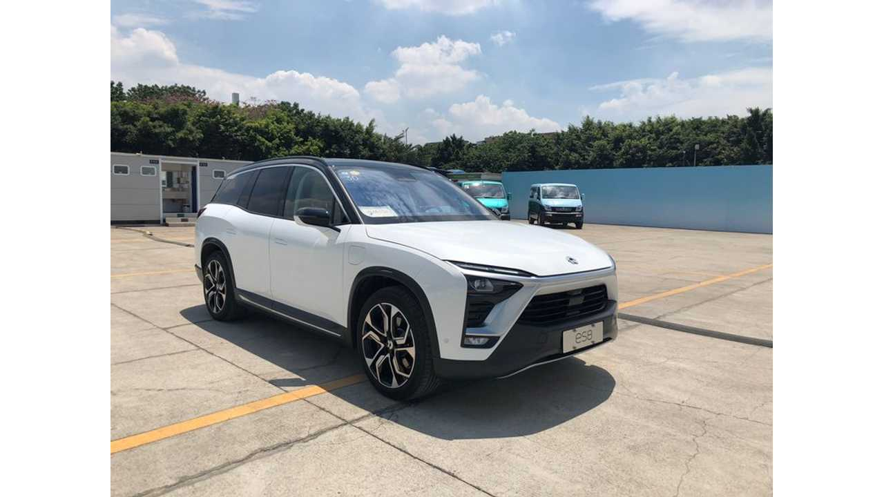 NIO ES8 EVs Drove 9 Million Miles Over Chinese Holiday