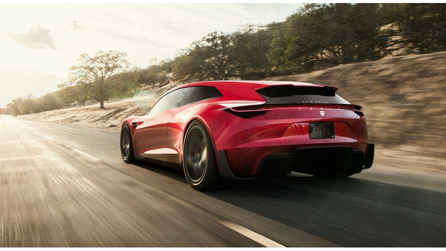 New Tesla Roadster Rendered As Slick Shooting Brake