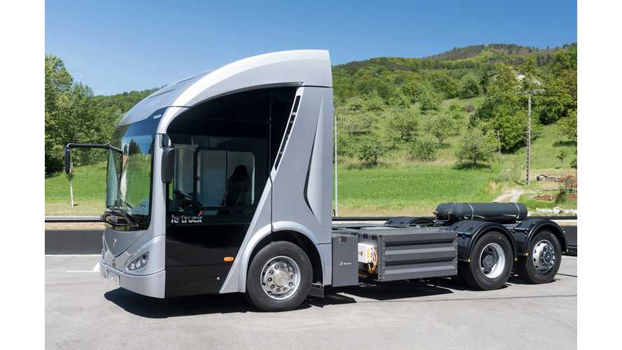 Irizar Electric Truck Fights Range Anxiety With CNG Range Extender