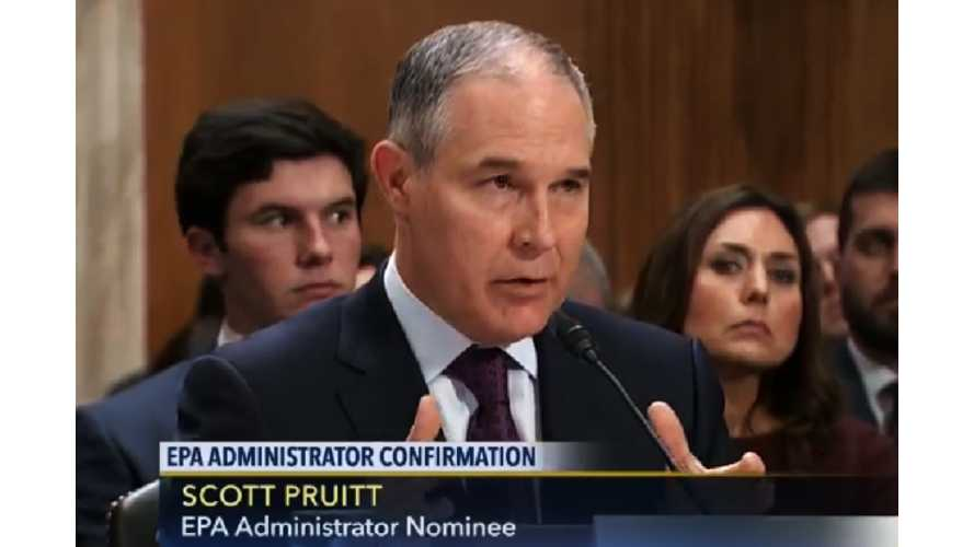 UPDATE: Pruitt-Led EPA Announces End Of Obama-Era Emissions Regulations