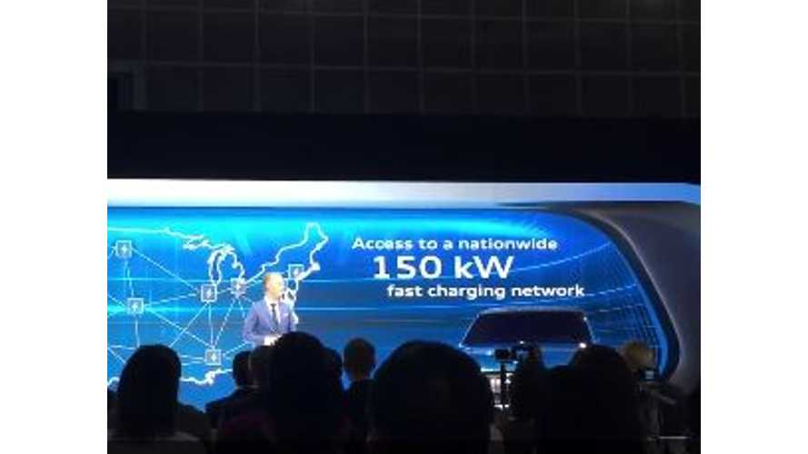 Audi Commits To Nationwide 150 kW Fast Charge Network In U.S. - Video