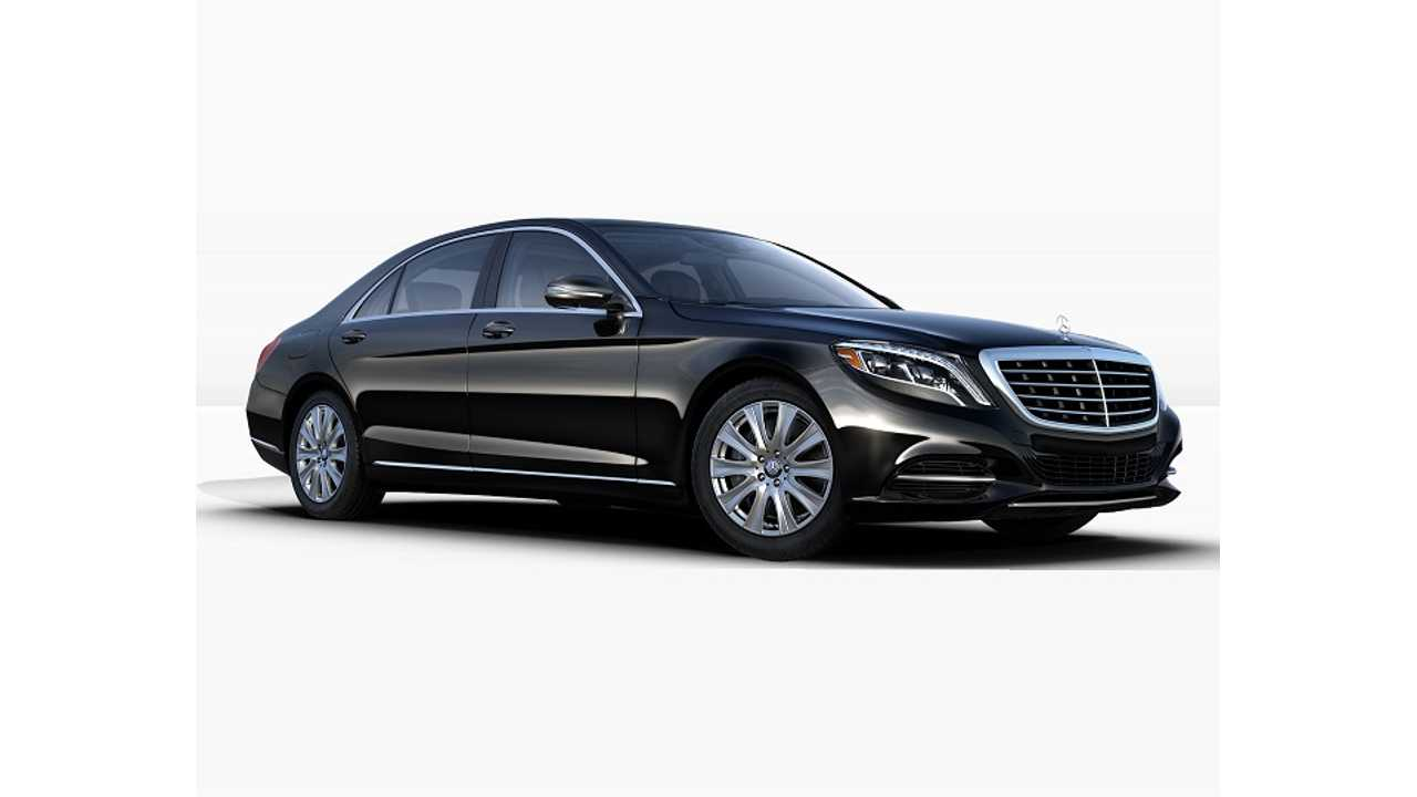 First New EV For US In 2015 Finally Arrives:  Mercedes Delivers The S550 Plug-In