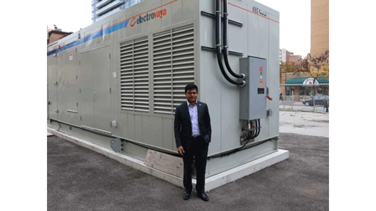 150 kW Battery Energy Storage System Installed In Canada To Prove That Batteries Can Stablize Grid