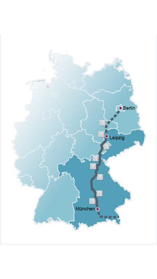 Fast Charge Corridor From Berlin To Munich Now Complete (update)