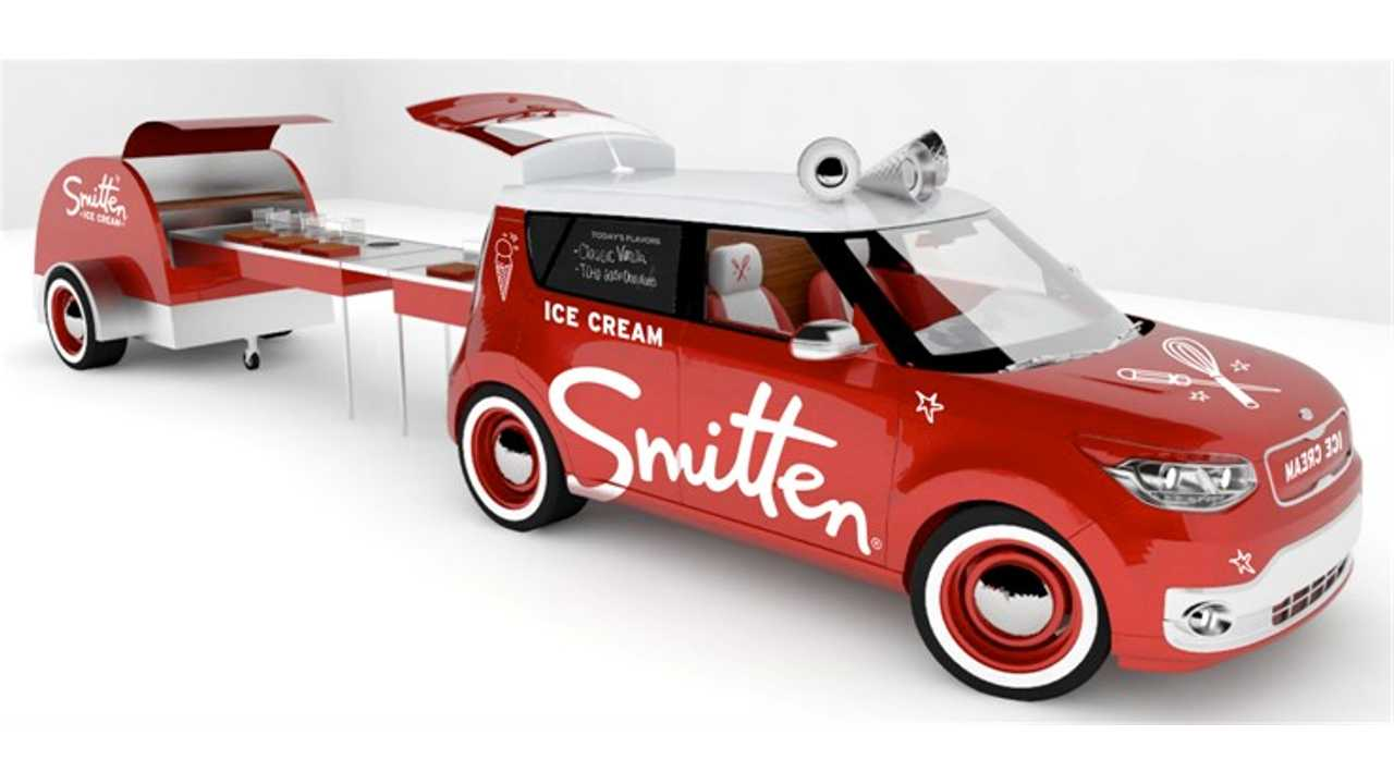 Smitten Ice Cream Kia Soul EV To Debut At SEMA (w/video)