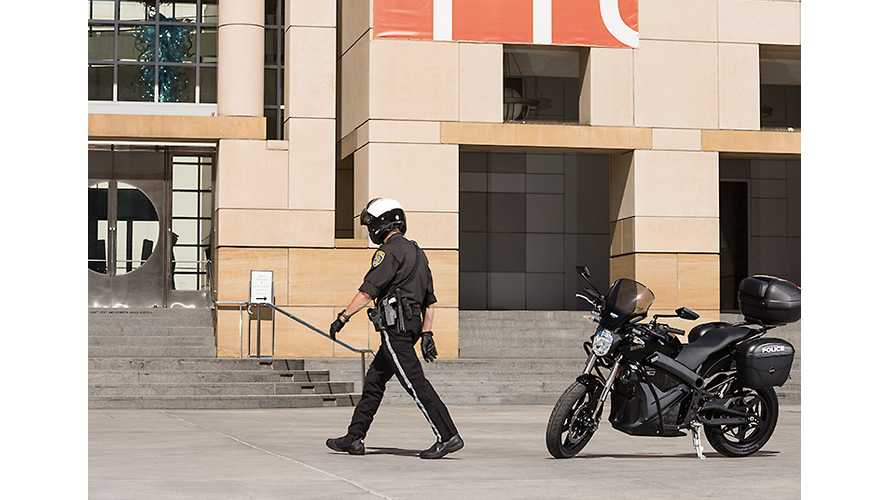 Law Enforcement Embraces Electric Motorcycles