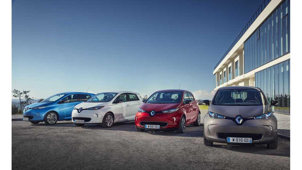 Renault Sets New EV Sales Record In June At 4,500