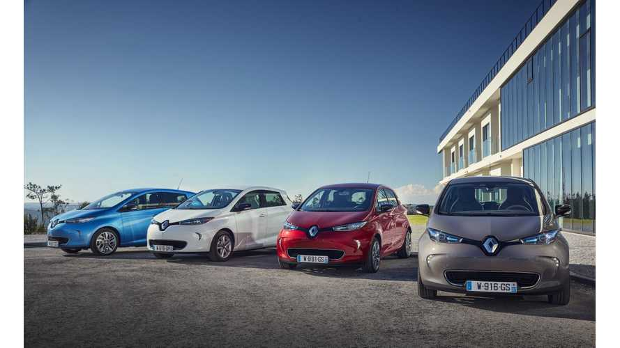 Renault Sets New EV Sales Record In June At 4,500
