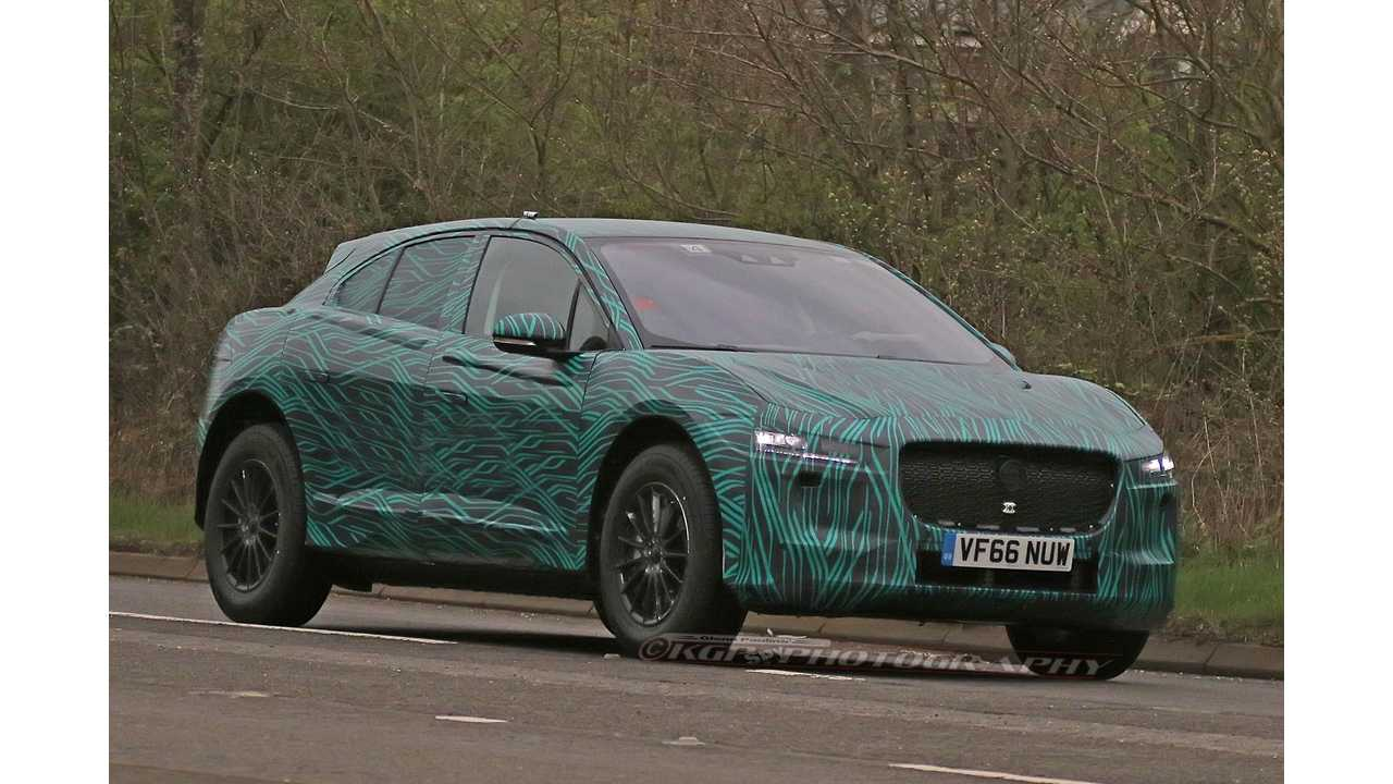 Jaguar I-Pace Production Prototype Spotted Looking Great!