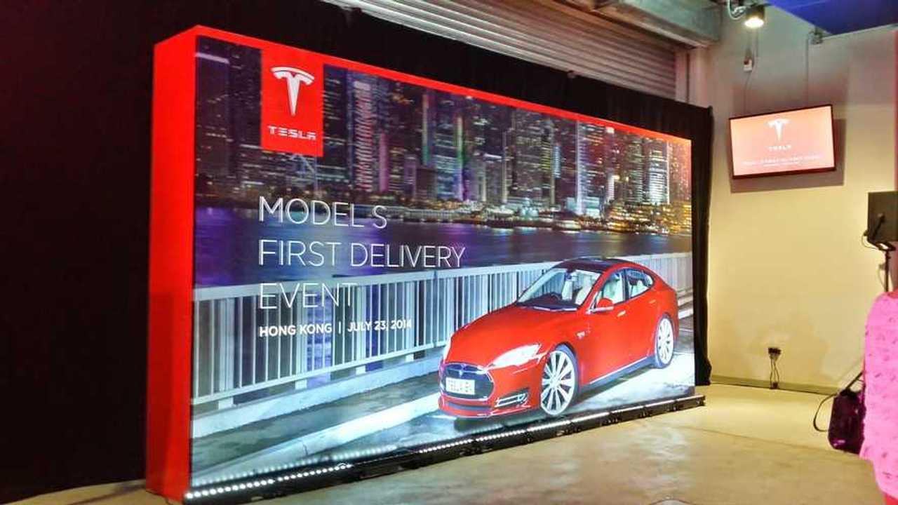 Tesla Model S 2014 Launch Event Hong Kong