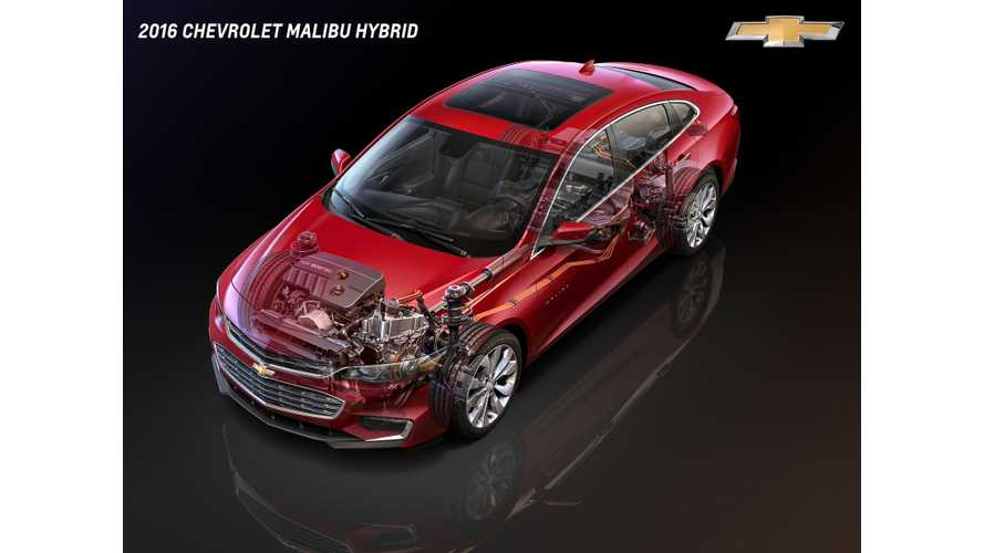 Hitachi Delivers 5,000 W/kg Prismatic Lithium-ion Cells for Chevrolet Malibu Hybrid