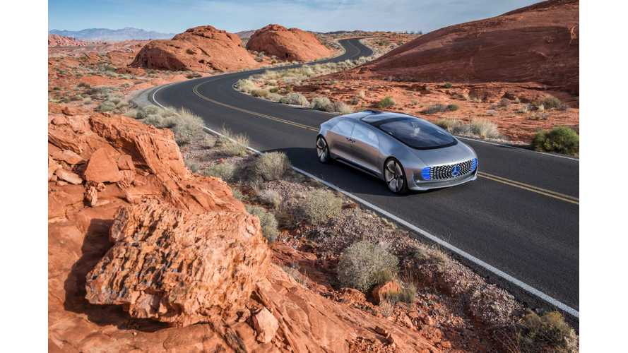 Mercedes-Benz F015 First Ride Review