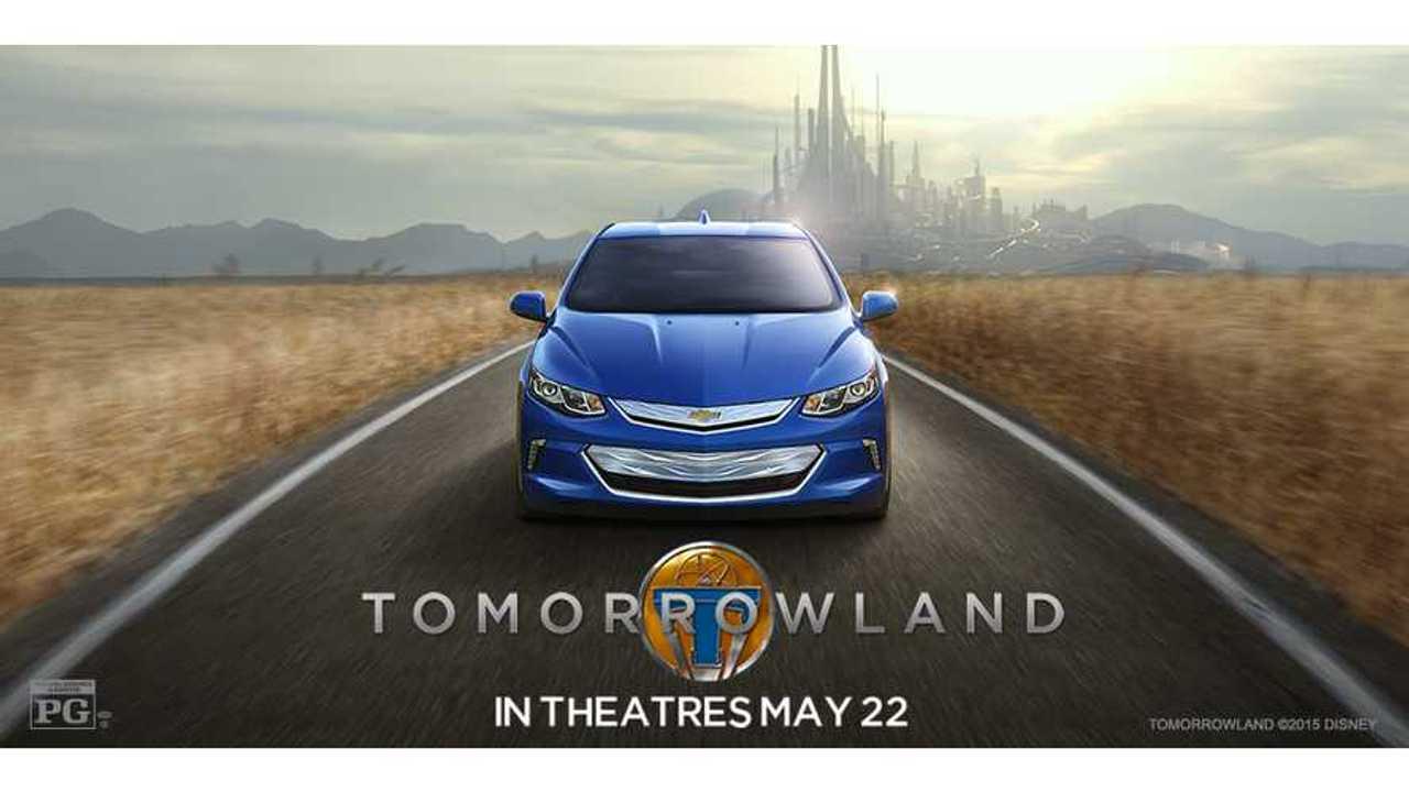 2016 Chevrolet Volt In Disney's Tomorrowland