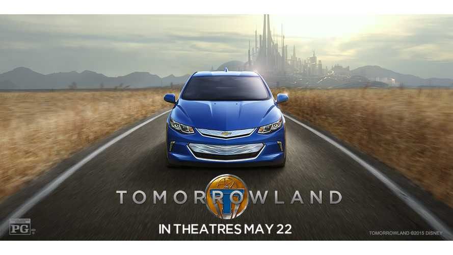 2016 Chevrolet Volt In Disney's Tomorrowland