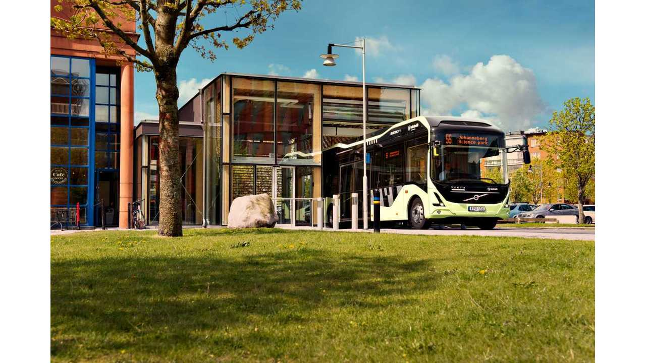 Volvo Electric Concept Bus