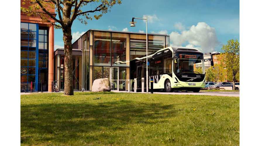 Volvo Shows Electric Bus At UITP in Milan