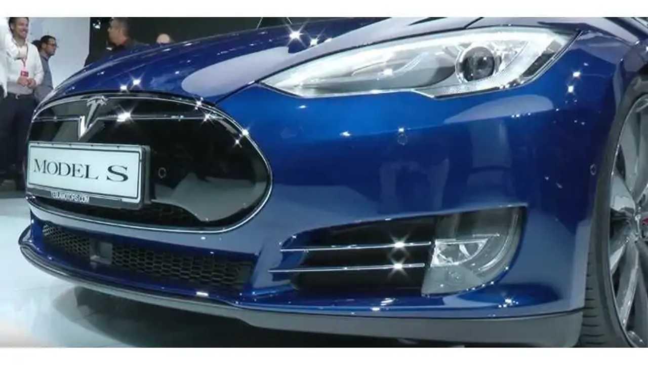 Tesla Model S P90D At Frankfurt Motor Show - Videos + Images