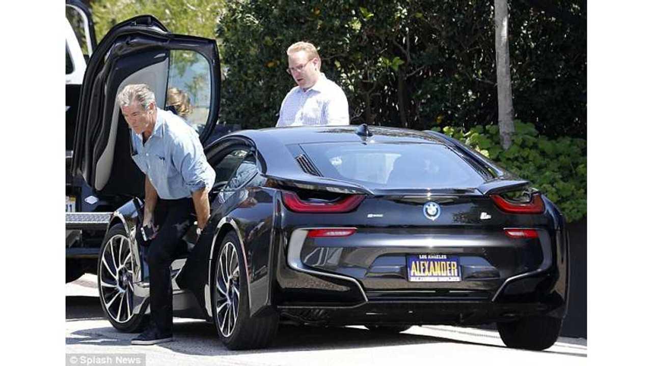James Bond Star Pierce Brosnan Buys BMW i8