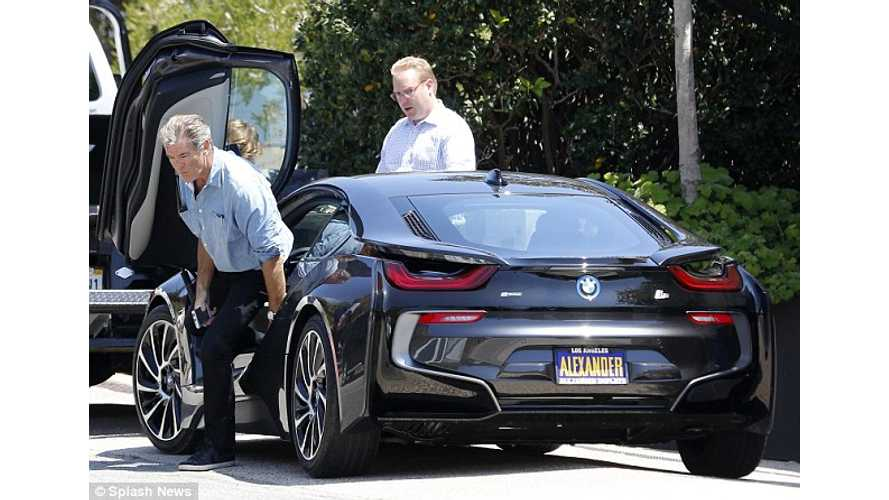 James Bond Star Pierce Brosnan Buys BMW i8
