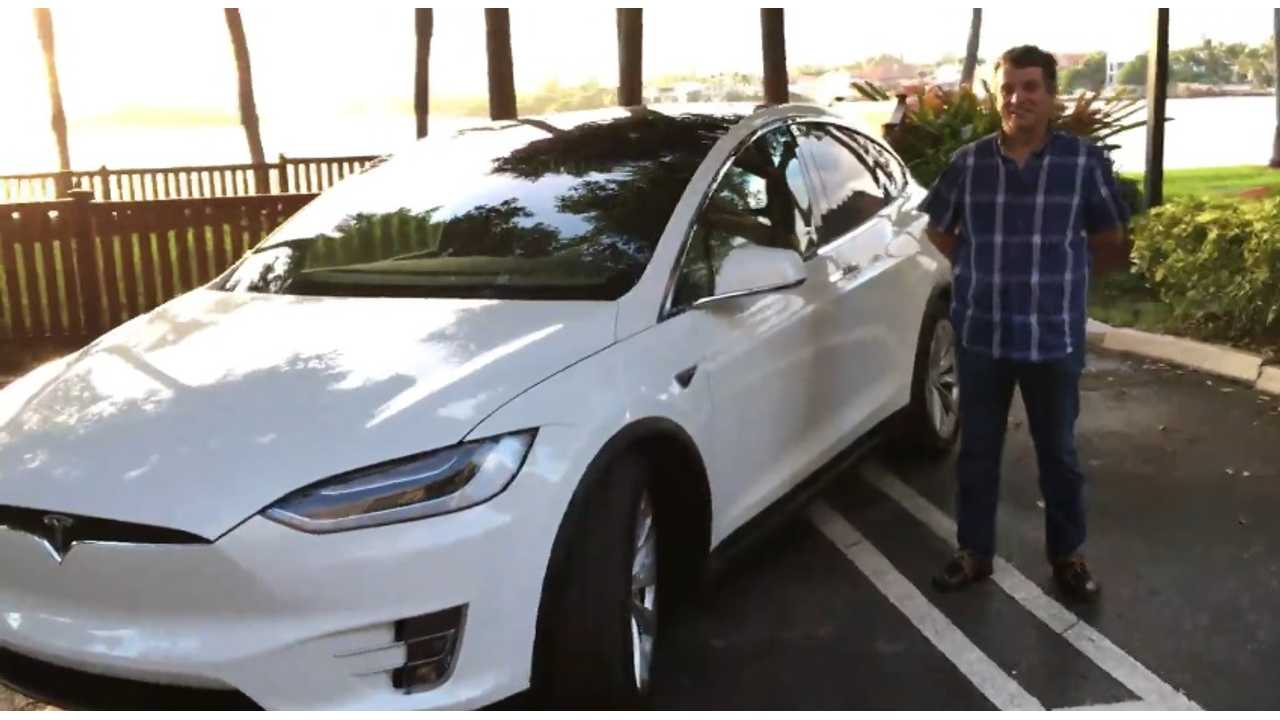 First Tesla Model X in Miami, Florida (News from the Frunk)