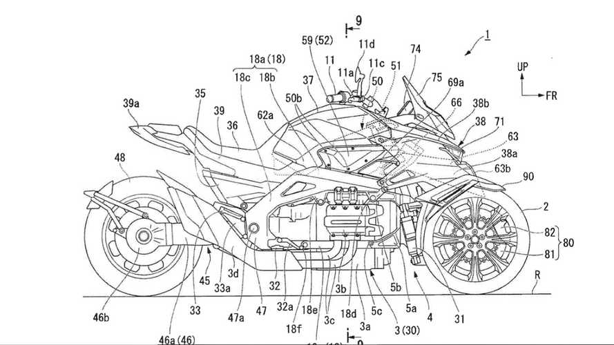 Is Honda Planning To Build A Gold Wing-Powered Niken?